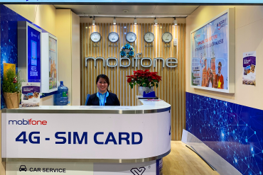 Where to Buy a Sim Card in Tan Son Nhat Airport?