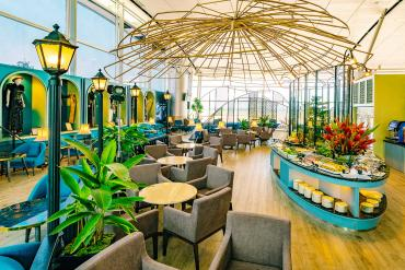 SASCO BUSINESS LOUNGE CHAIN AT TAN SON NHAT AIRPORT