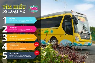 用PHU QUOC BUS TOUR巴士之旅刚发布的2种组合票来探索富国岛
